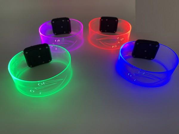 LED-Armband sound-aktiv