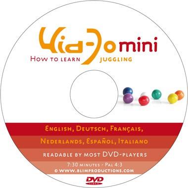 Kid-Jo Mini (Kurzanleitung jonglieren lernen)