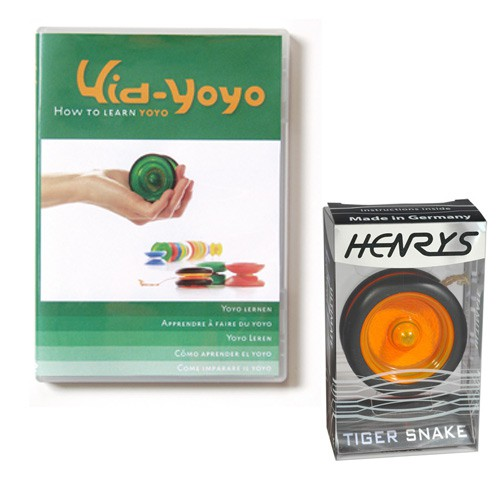 Set: Kid Yoyo DVD + Yoyo
