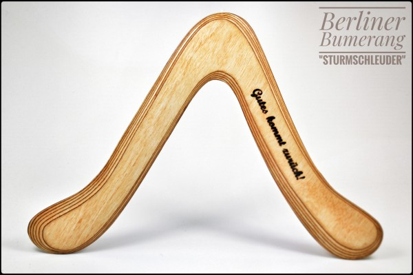 Berliner-Bumerang - Sturmschleuder