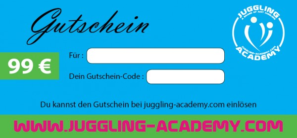 Gutschein für Juggling Academy