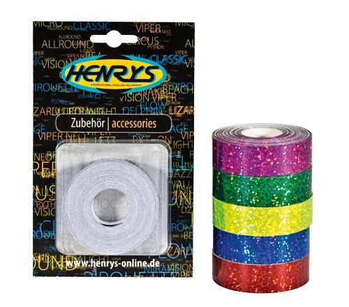Henrys Deko Klebeband Glitter 10 m (Deco Tape)