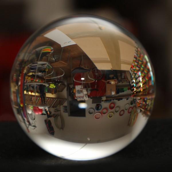 Agile Super Clear Acrylkugel 40–110 mm