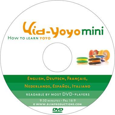 Kid-Yoyo Mini (Kurzanleitung Yoyo lernen)